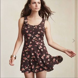 Reformation Cherry Print Mini Dress